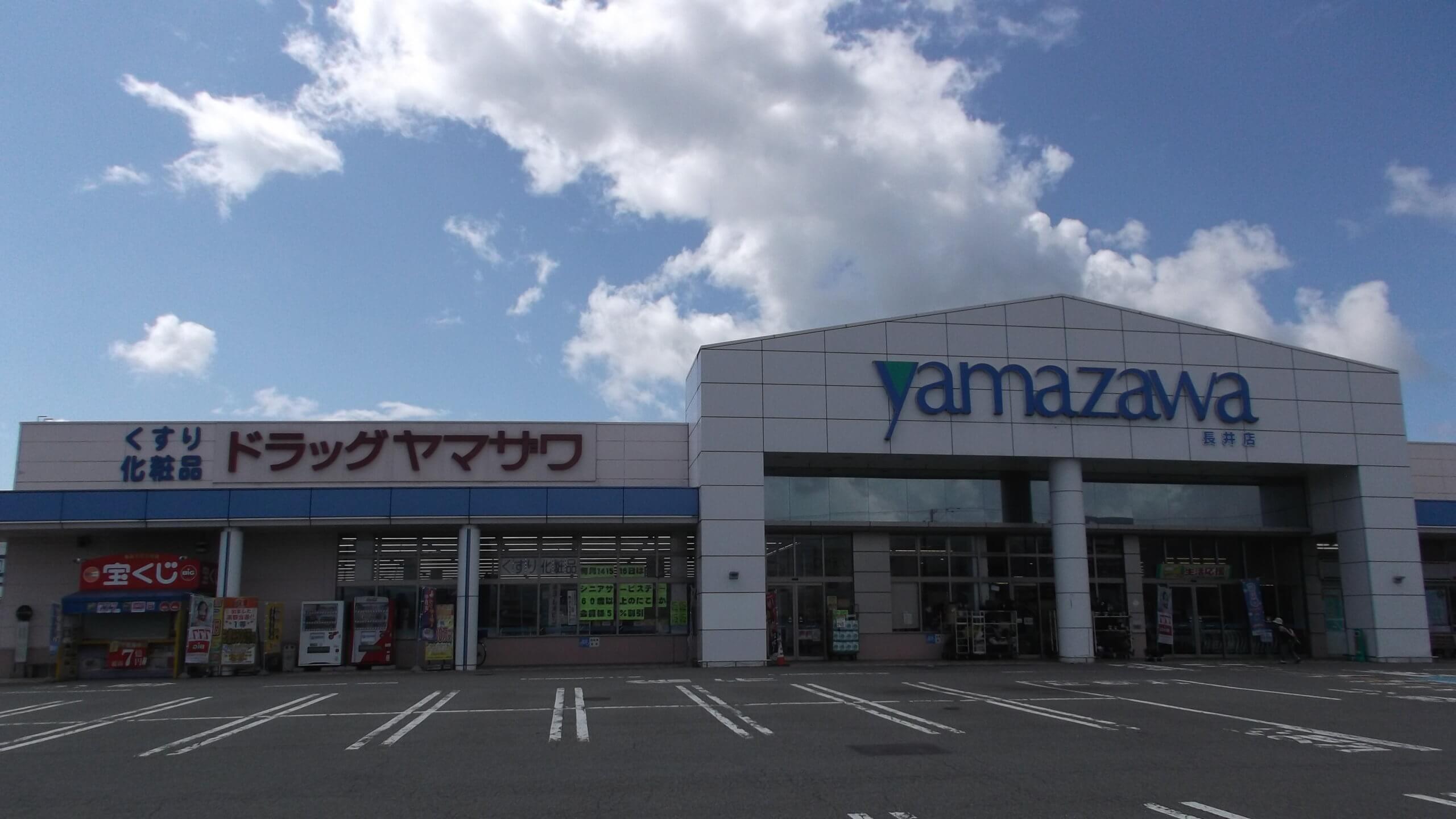 ドラッグヤマザワ長井店